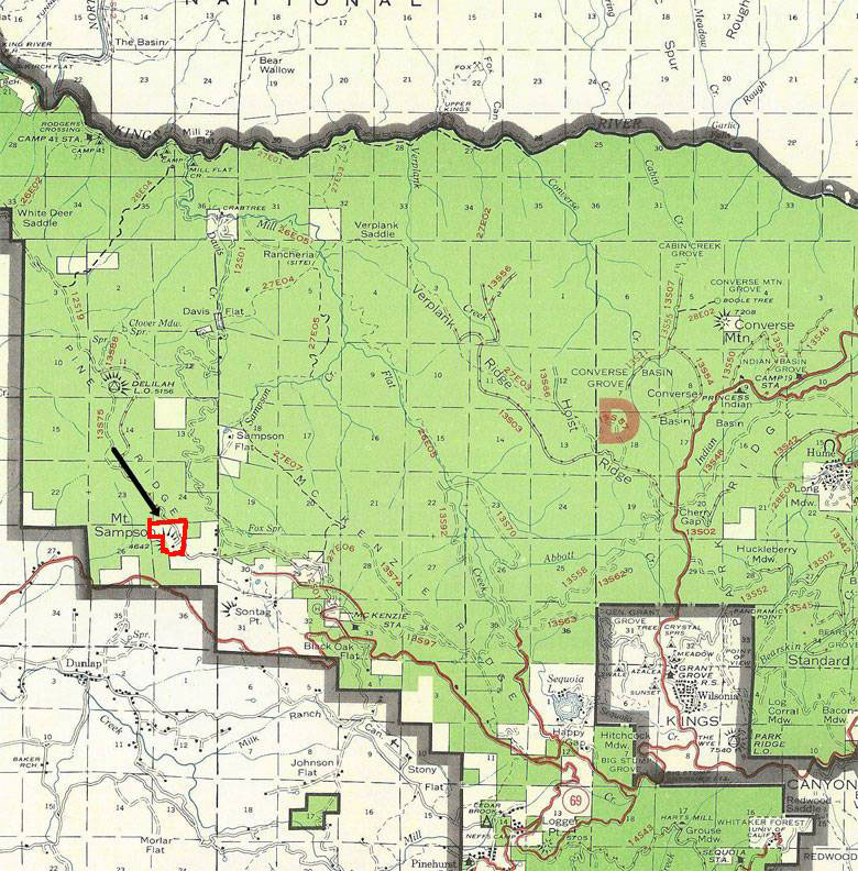 120 Acres Sequoia Highlands Camp